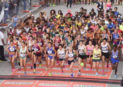 Telesia Half Marathon 2015 – Start Donne